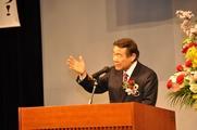 講演される太田会長(2)